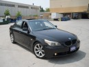 Used 2004 BMW 550i Leather,Sunroof,LowKm,Display,Warranty Available for sale in North York, ON