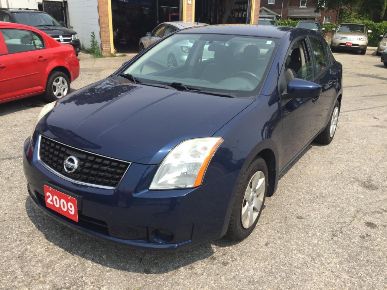 Photo of Blue 2009 Nissan Sentra