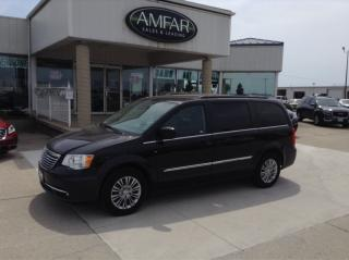 Used 2016 Chrysler Town & Country Touring / LEATHER / NO PAYMENTS FOR 6 MONTHS !!! for sale in Tilbury, ON