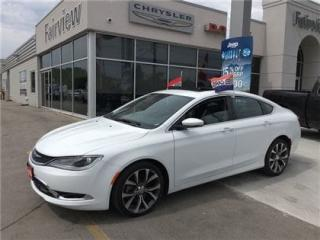 Used 2016 Chrysler 200 C.Pan Roof/ Leather/Navi for sale in Burlington, ON