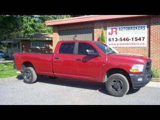Used 2010 Dodge Ram 3500 Diesel Crew Cab 6 Speed Manual RARE! for sale in Elginburg, ON