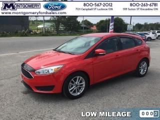 Used 2016 Ford Focus SE  SYNC VOICE ACTIVATED SYS - MYKEY for sale in Kincardine, ON