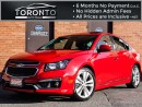 Used 2015 Chevrolet Cruze ***SOLD***LTZ+RS Pkg+Navi+Camera for sale in North York, ON