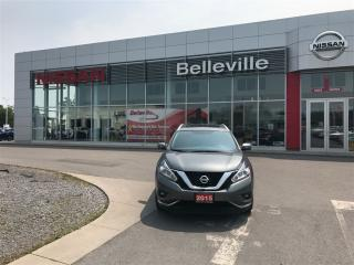 Used 2015 Nissan Murano SL AWD LOCAL TRADE for sale in Belleville, ON