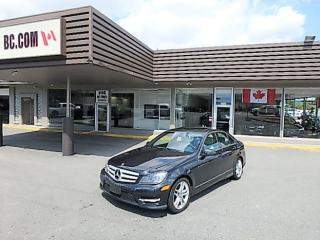 Used 2013 Mercedes-Benz C 300 4Matic Navigation, Fully Loaded for sale in Langley, BC