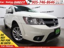 Used 2014 Dodge Journey SXT| DUAL CLIMATE CONTROL| LOCAL TRADE| for sale in Burlington, ON