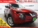Used 2016 Nissan Juke SV| AWD| BACK UP CAMERA| HEATED SEATS| for sale in Burlington, ON