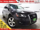 Used 2010 Audi Q5 3.2 Premium (Tiptronic)| LEATHER| PANO ROOF| for sale in Burlington, ON