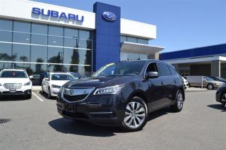 Used 2016 Acura MDX Navigation Package - 15,000 Kms for sale in Port Coquitlam, BC