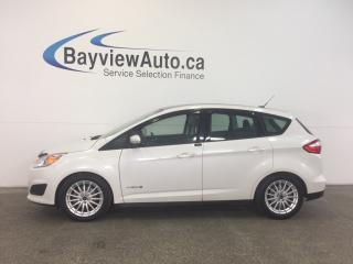 Used 2013 Ford C-MAX SE- HYBRID! SYNC! PANOROOF! HEATED SEATS! for sale in Belleville, ON