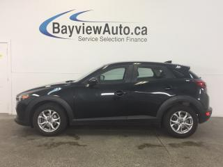 Used 2016 Mazda CX-3 GS- SKYACTIV! SUNROOF! BLUETOOTH! HEATED LEATHER! for sale in Belleville, ON