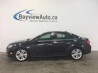 Used 2016 Chevrolet Cruze RS - AUTO! TURBO! REM START! ROOF! CRUISE! for sale in Belleville, ON