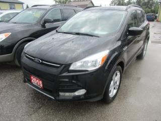 Used 2015 Ford Escape LOADED SE EDITION 5 PASSENGER 2.0L - ECO-BOOST.. 4WD.. LEATHER.. HEATED SEATS.. NAVIGATION.. BACK-UP CAMERA.. PANORAMIC SUNROOF.. for sale in Bradford, ON