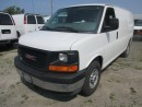 Used 2017 GMC Savana 3/4 TON 'WORK READY' 2 PASSENGER 4.8L - V8.. CARGO MOVER.. TOW SUPPORT.. AUX INPUT.. FACTORY WARRANTY.. for sale in Bradford, ON