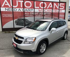 Used 2012 Chevrolet Orlando 1LT-ALL CREDIT ACCEPTED for sale in Scarborough, ON