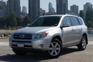 Used 2008 Toyota RAV4 LIMITED 4A for sale in Vancouver, BC