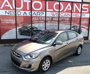 Used 2012 Hyundai Accent GLS-ALL CREDIT ACCEPTED for sale in Scarborough, ON