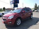 Used 2014 Chevrolet Equinox 2LT Large touch screen for sale in Brantford, ON