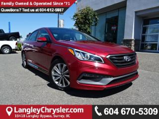 Used 2016 Hyundai Sonata Sport Tech *ACCIDENT FREE * DEALER INSPECTED * CERTIFIED * for sale in Surrey, BC