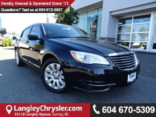 Used 2013 Chrysler 200 LX W/POWER GROUP & AIR CONDITIONING for sale in Surrey, BC