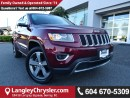 Used 2016 Jeep Grand Cherokee Limited W/LEATHER INTERIOR, SUNROOF & BLUETOOTH for sale in Surrey, BC