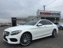 Used 2015 Mercedes-Benz C-Class C400 4MATIC - NAVI - PANORAMIC ROOF for sale in Oakville, ON