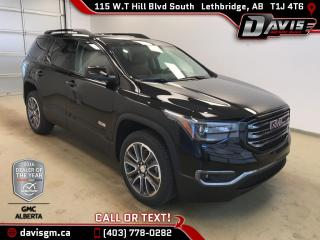 New 2017 GMC Acadia SLT-1-AWD,Heated Leather, All Terrain Package, Driver Alert Package for sale in Lethbridge, AB