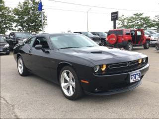 Used 2016 Dodge Challenger R/T CLASSIC**BLIND SPOT DETECTION**HEATED SEATS** for sale in Mississauga, ON