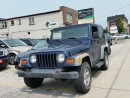 Used 2002 Jeep TJ SE for sale in Scarborough, ON