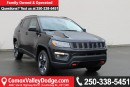 New 2017 Jeep New Compass Trailhawk HEATED SEATS, KEYLESS ENTRY, BACK UP CAMERA, NAV, REMOTE START for sale in Courtenay, BC