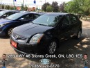 Used 2012 Nissan Sentra 2.0...SAVE WITH LOW PAYMENTS AND LOW GAS USAGE!!! for sale in Stoney Creek, ON
