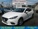 Used 2014 Mazda MAZDA3 GX-SKY Auto Prl White Bluetooth for sale in Mississauga, ON