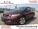 Used 2013 Honda Civic LX | BLUETOOTH | REAR-VIEW CAMERA for sale in Scarborough, ON
