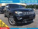 Used 2017 Jeep Grand Cherokee Overland | ACTIVE SAFETY | ONE OWNER | for sale in Burlington, ON