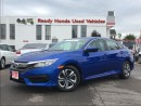 Used 2016 Honda Civic Sedan LX  | 1.99% Financing for sale in Mississauga, ON