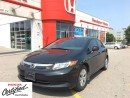Used 2012 Honda Civic LX, stick shift with only 54,000 kms for sale in Scarborough, ON