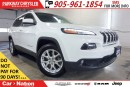 Used 2015 Jeep Cherokee NORTH| NAV| LEATHER| REAR CAM| PWR TAILGATE for sale in Mississauga, ON