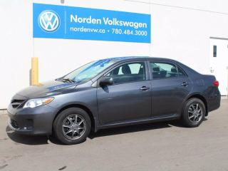 Used 2012 Toyota Corolla SD for sale in Edmonton, AB