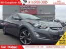 Used 2016 Hyundai Elantra LIMITED | NAVI | SUNROOF | LEATHER | BACK UP CAM for sale in Georgetown, ON
