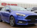 Used 2015 Ford Focus ST 252 HP!! 6 SPEED, HEATED SEATS, HEATED WHEEL, BACKUP CAM, NAV, SUNROOF, LEATHER, SD / USB / AUX for sale in Edmonton, AB