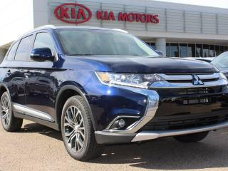 Used 2016 Mitsubishi Outlander SE, SUNROOF, HEATED SEATS, BACKUP CAM, 4WD, AUX for sale in Edmonton, AB