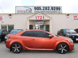 Used 2010 Kia Forte Koup Leather, Sunroof, WE APPROVE ALL CREDIT for sale in Mississauga, ON
