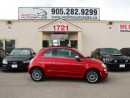 Used 2012 Fiat 500 C Lounge, Red Leather, Navi, WE APPROVE ALL CREDIT for sale in Mississauga, ON