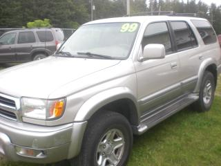 Used 1999 Toyota 4Runner Limited 4X4  Loaded / Leather for sale in Mansfield, ON