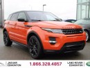 Used 2015 Land Rover Evoque Dynamic Black Pack - CPO 6yr/160000kms manufacturer warranty included until November 28, 2020! CPO rates starting at 2.9%! Local One Owner Trade In | No Accidents | 3M Protection Applied | Navigation | Surround Camera System | Parking Sensors | Reverse Tr for sale in Edmonton, AB