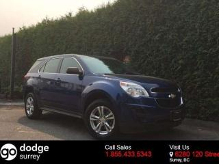 Used 2010 Chevrolet Equinox LS + BLUETOOTH + A/C + CRUISE CONTROL + NO EXTRA DEALER FEES for sale in Surrey, BC