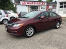 Used 2012 Honda Civic 1Owner/Accident Free/Bluetooth/Automatic/Certified for sale in Scarborough, ON