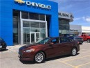 Used 2016 Ford Fusion S ONE OWNER LOW KMS WIN/LOCKS KEYLESS CRUISE!!! for sale in Orillia, ON