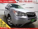 Used 2014 Subaru Forester 2.5i| AWD| BACK UP CAMERA| POWER SEAT| for sale in Burlington, ON