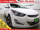 Used 2014 Hyundai Elantra Limited| NAVI| LEATHER| SUNROOF| BACK UP CAM| for sale in Burlington, ON